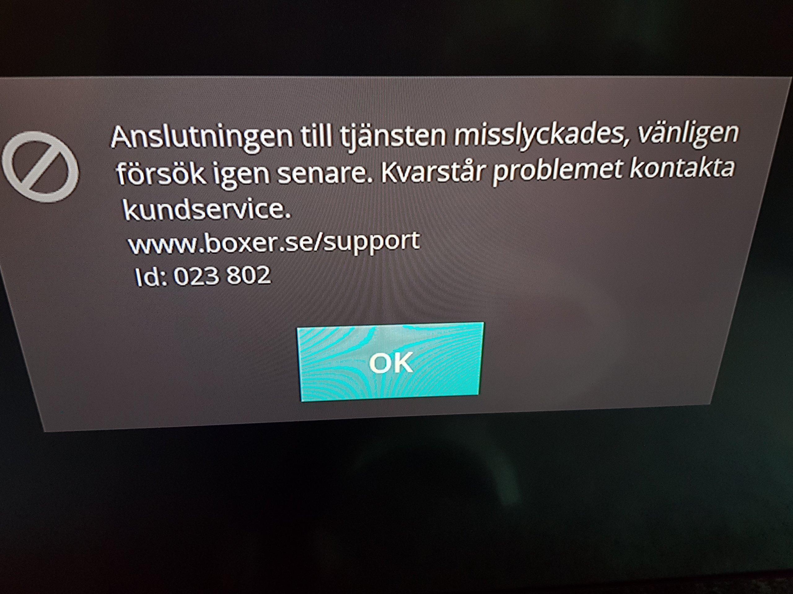 boxer tv kontakt