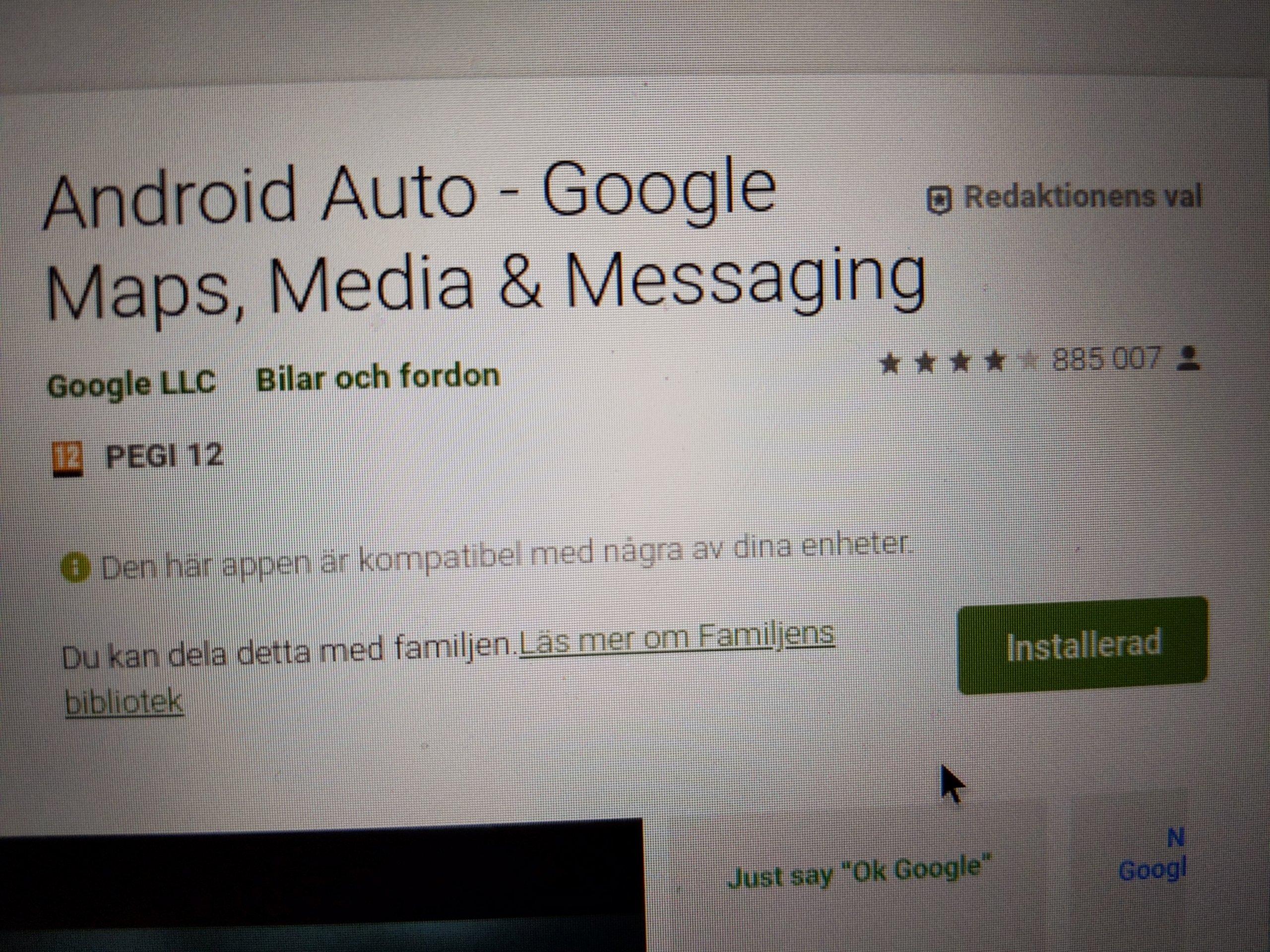 Android Auto i Sverige? | Sida 48 | Swedroid forum Nordens