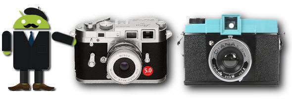Fem bra kamera-appar för Android