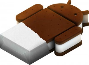 Ice Cream Sandwich (ICS), logo