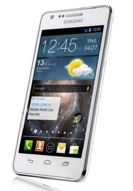 Bilder som påstås föreställa Samsung Galaxy S3, uppgifter om