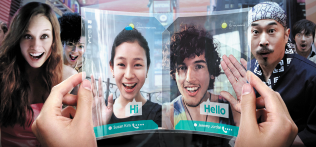 Samsung satsar vidare på AMOLED, börjar producera vikbara skärmar nästa år