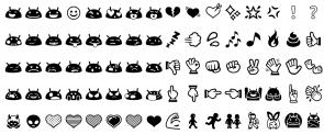 emojis landskap