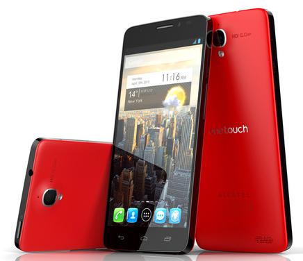One Touch Idol X – färggrann Full HD-mobil från Alcatel