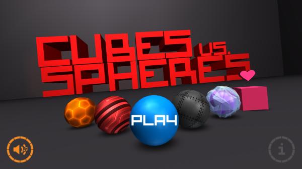 Cubes vs Spheres ? snyggt, beroendeframkallande, suveränt [Speltest