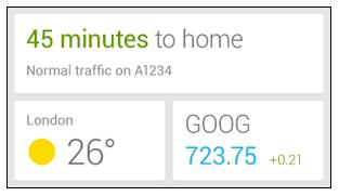 Supportsida indikerar att Google Now får egen widget