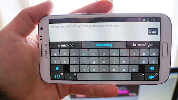 SwiftKey 4 med Flow släpps i skarp version i Play Store