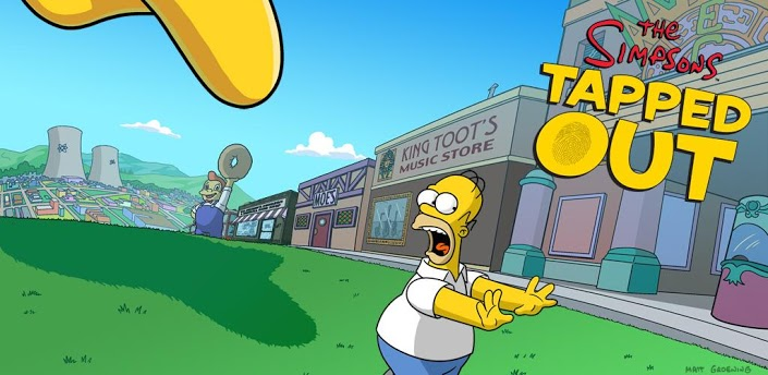 Spelet the simpsons tapped out finns nu f r android - Homer simpson nu ...