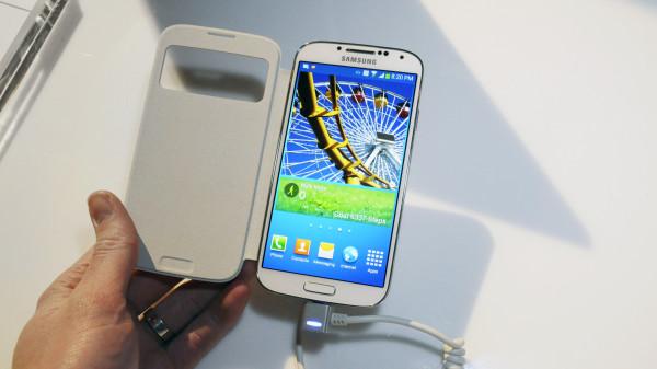 Hands-on med Samsung Galaxy S4