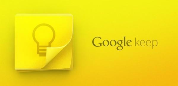 Google Keep får stöd för etiketter