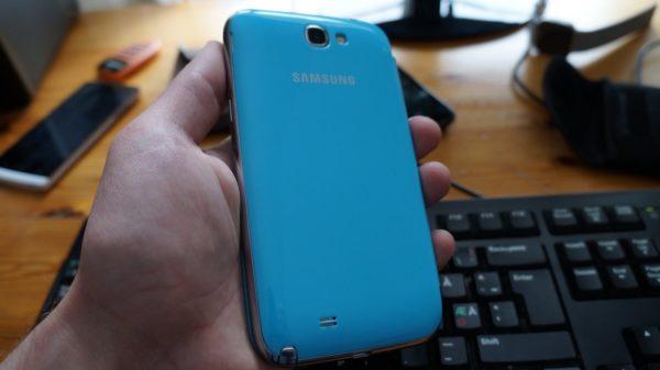 Ny 50MB stor firmwareuppdatering för Samsung Galaxy Note 2