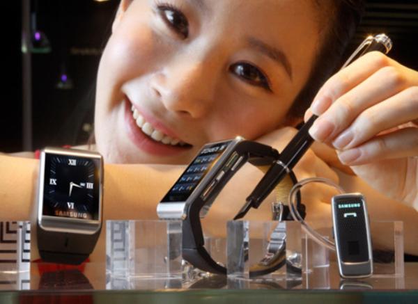 Samsung arbetar på ny smartklocka