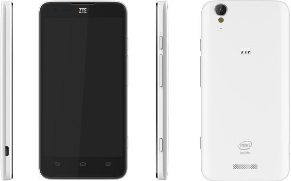 """ZTE presenterar 5-tumsmobilen Geek med """"Intel Inside"""""""