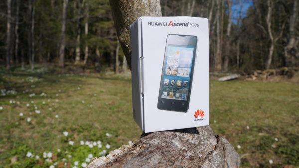 En närmare titt på Huawei Ascend Y300 – Jelly Bean för 1500kr