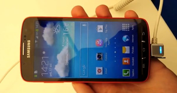 Video som visar Samsung Galaxy S4 Active [Rykten]