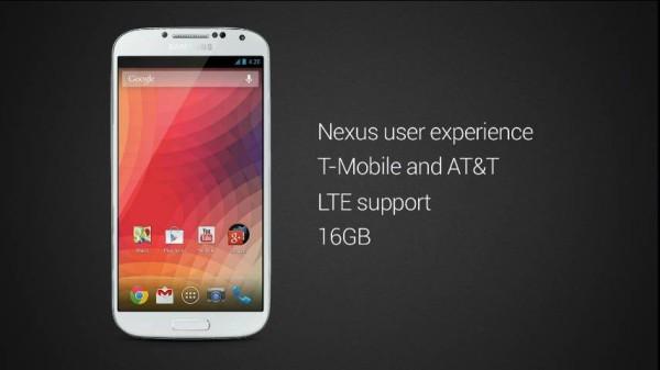 Galaxy S4 Google Edition existerar – kommer säljas i Play Store i USA