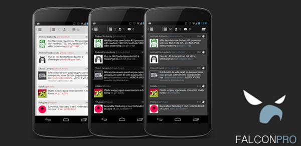 Falcon Pro 2.0 släpps i skarp version, bjuder på svart tema och stöd för flera konton