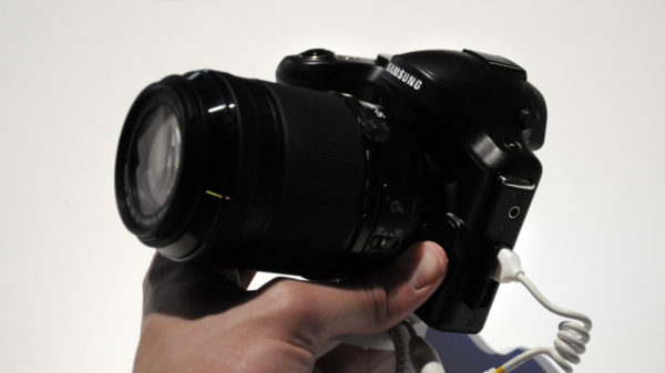 Hands-on med Samsung Galaxy NX och Ativ Q