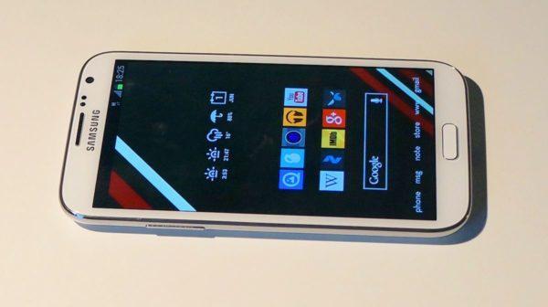 Samsung Galaxy Note 2 får 73MB stor firmwareuppdatering