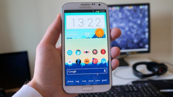 Galaxy Note 2 kommer få Lollipop enligt Samsung Polen