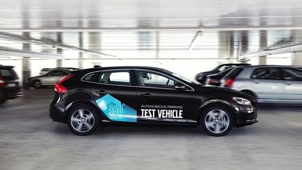 Volvo presenterar koncept för bilar som parkerar sig själva