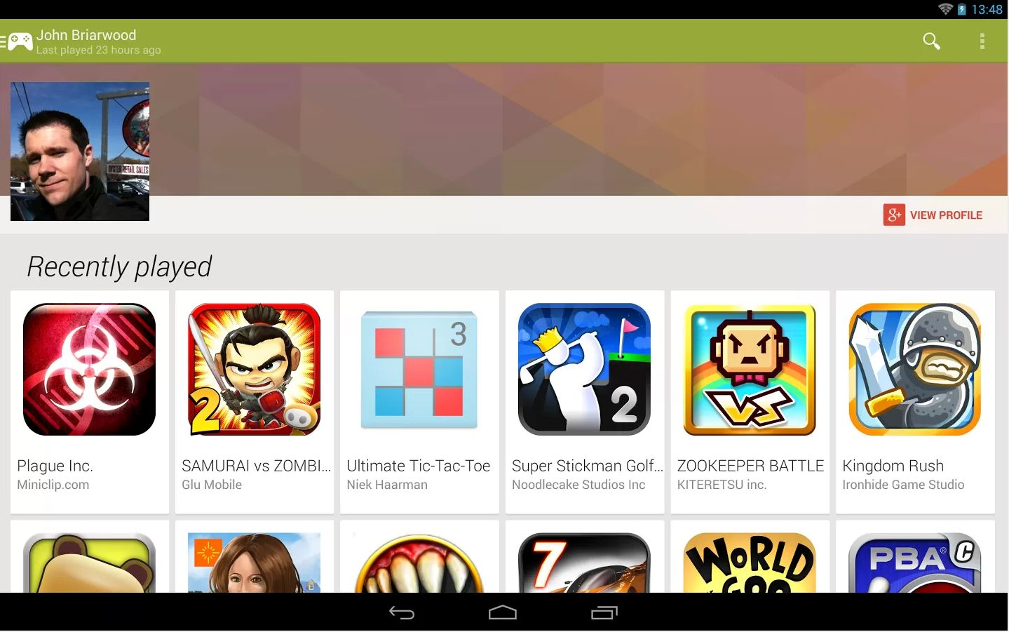 games to play on google