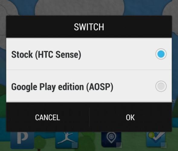 Paul O'Brien arbetar på verktyg som låter HTC One-ägare växla mellan Sense 5 och original-Android