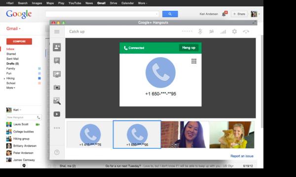 Google tillkännager telefonsamtal för Hangouts, fungerar inte i Sverige