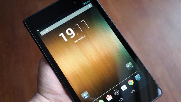 Barnsjukdomar för nya Nexus 7