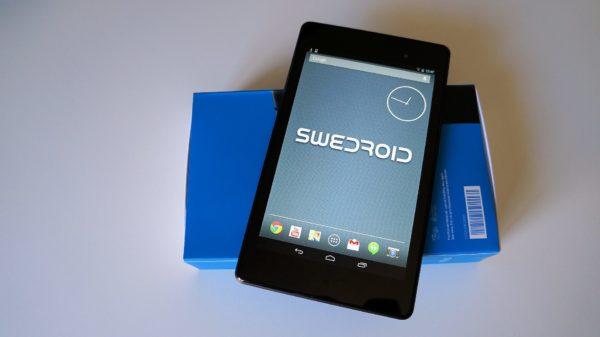 Vi packar upp Google Nexus 7 2013