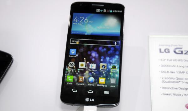 En första titt på LG G2