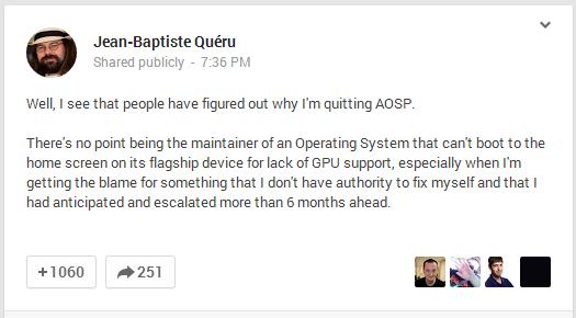 Inga separata firmwarefiler för nya Nexus 7 på grund av Qualcomm?