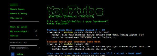 Påskägg på YouTube i samband med Geek Week