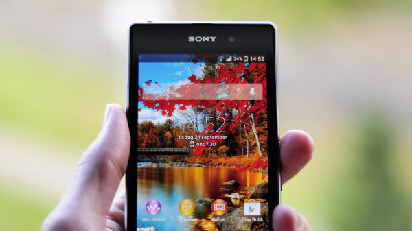 Vi testar Sony Xperia Z1