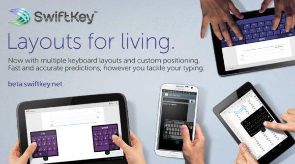Senaste betan av SwiftKey bjuder på nya layouter