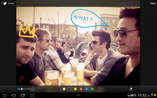 Twitter släpper app optimerad för surfplattor – men endast för Samsung Note 10.1 2014-edition