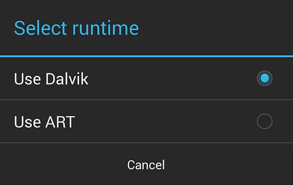 ART ser ut att ersätta Dalvik i nästa Androidversion