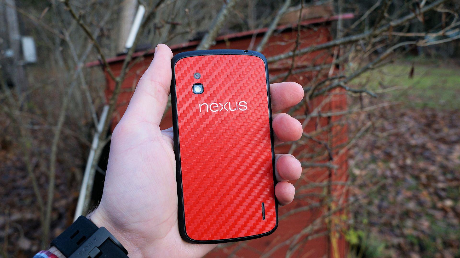 En titt p dbrands skin f r lg nexus 4 swedroid for Nexus 5 skin template