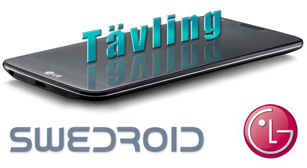 Tävla och vinn LG G2 – årets smartphone 2013