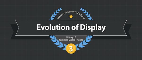 Samsung berättar hur företagets mobilskärmar utvecklats genom åren