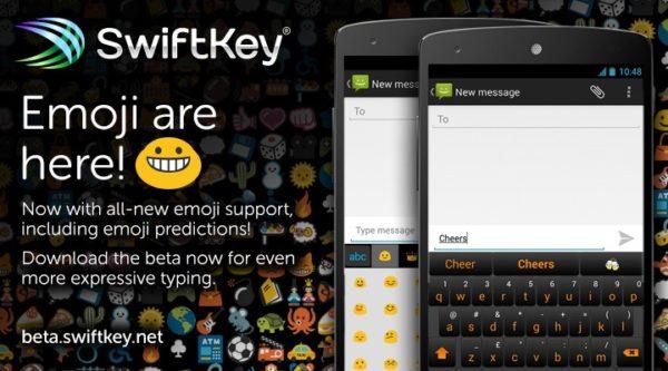 Beta av SwiftKey med inbyggt emoji-stöd nu tillgänglig