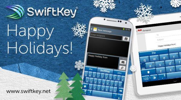 SwiftKey uppdateras till version 4.4, får jultema