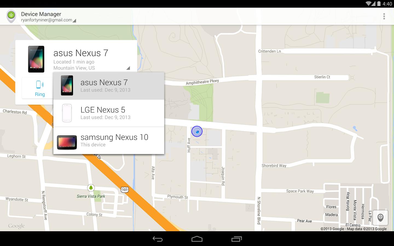 Android device manager har google åtgärdat detta genom att lägga