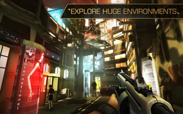 Square Enix släpper Deus Ex: The Fall i Google Play