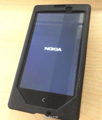 Första fotot på Nokia Normandy?