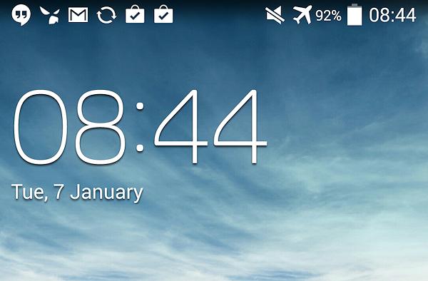 Läckt KitKat-firmware för Samsung Galaxy S4 visar vita ikoner