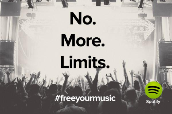 Spotify tillåter nu obegränsad strömning på datorer även för gratisanvändare