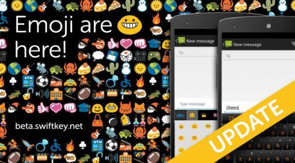 SwiftKey släpper ny beta av sitt tangentbord med emoji-stöd