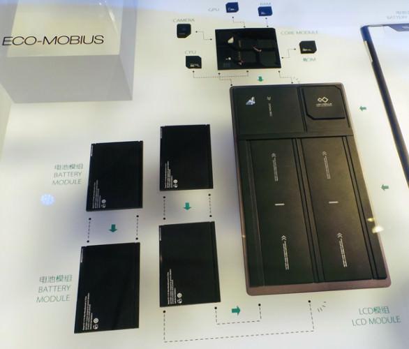 ZTE visar upp sin lösning för modulära smartphones