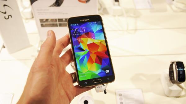 En första titt på Samsung Galaxy S5